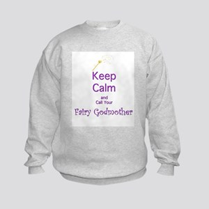 Keep Calm and Call your Fairy Godmother Sweatshirt