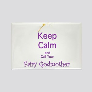 Keep Calm and Call your Fairy Godmother Rectangle