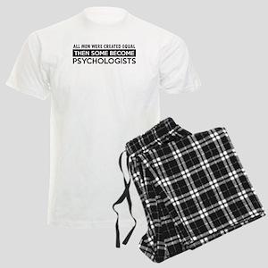 Psychologists Designs Men's Light Pajamas