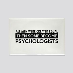 Psychologists Designs Rectangle Magnet