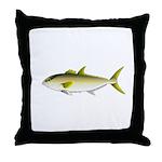 Greater Amberjack fish Throw Pillow