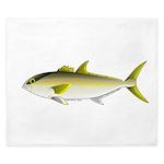 Greater Amberjack fish King Duvet