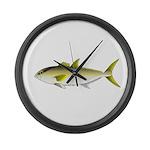 Greater Amberjack fish Large Wall Clock