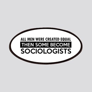 Sociologists Designs Patches