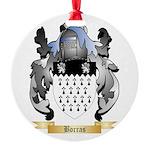 Borras Round Ornament