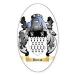 Borras Sticker (Oval 50 pk)