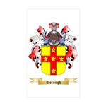 Borough Sticker (Rectangle 50 pk)