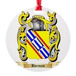 Borman Round Ornament