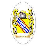 Borman Sticker (Oval 50 pk)