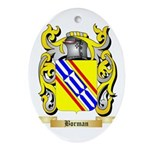 Borman Ornament (Oval)