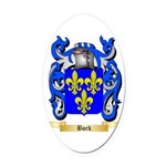 Bork Oval Car Magnet