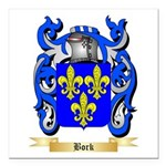 Bork Square Car Magnet 3
