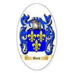 Bork Sticker (Oval)