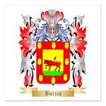 Borjas Square Car Magnet 3