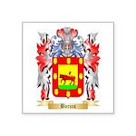 Borjas Square Sticker 3