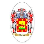 Borjas Sticker (Oval 50 pk)