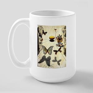 "Inspirations ""Vintage Dali"""" Large Mug"