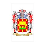 Borja Sticker (Rectangle 10 pk)