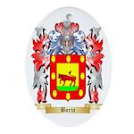 Borja Ornament (Oval)