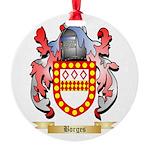 Borges Round Ornament