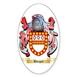 Borges Sticker (Oval 10 pk)
