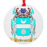 Borges 2 Round Ornament