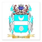 Borges 2 Square Car Magnet 3