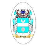 Borges 2 Sticker (Oval 10 pk)