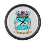 Borges 2 Large Wall Clock
