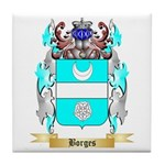 Borges 2 Tile Coaster
