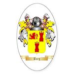 Borg 2 Sticker (Oval 50 pk)