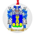 Borg (Malta) Round Ornament