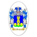 Borg (Malta) Sticker (Oval 10 pk)