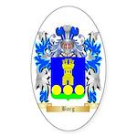 Borg (Malta) Sticker (Oval 50 pk)