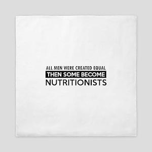 Nutritionists Designs Queen Duvet