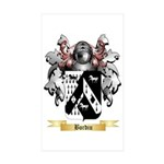 Bordiu Sticker (Rectangle 50 pk)