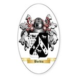 Bordiu Sticker (Oval)