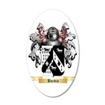 Bordiu 35x21 Oval Wall Decal