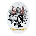 Bordils Ornament (Oval)