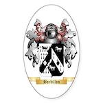 Bordillon Sticker (Oval 10 pk)