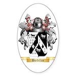 Bordillon Sticker (Oval 50 pk)