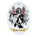Bordillon Ornament (Oval)