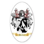 Bordier Sticker (Oval 50 pk)