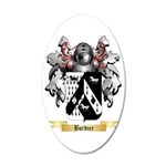 Bordier 35x21 Oval Wall Decal