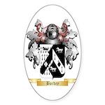 Bordey Sticker (Oval 50 pk)