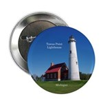 "Tawas Point Lighthouse 2.25"" Button"