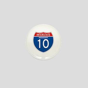 Interstate 10 - MS Mini Button