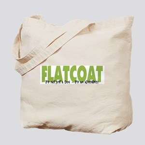 Flatcoat IT'S AN ADVENTURE Tote Bag