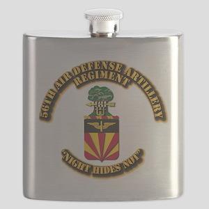 COA - 56th Air Defense Artillery Regiment Flask
