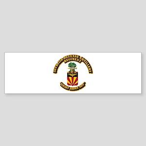 COA - 56th Air Defense Artillery Regiment Sticker